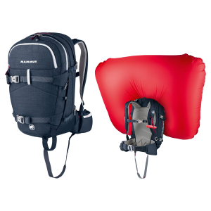 photo: Mammut Ride Short Removable Airbag avalanche airbag pack