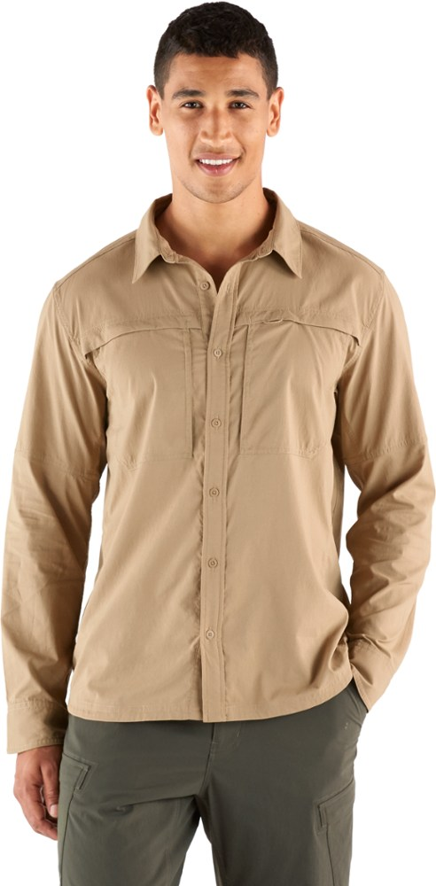 photo: REI Men's Sahara Long-Sleeve Shirt hiking shirt