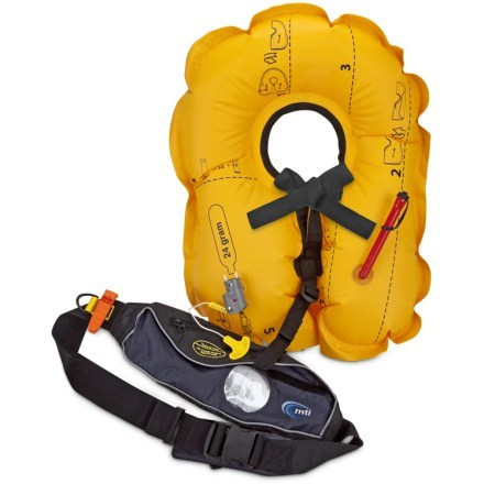 photo: MTI Fluid 2.0 Belt Pack life jacket/pfd