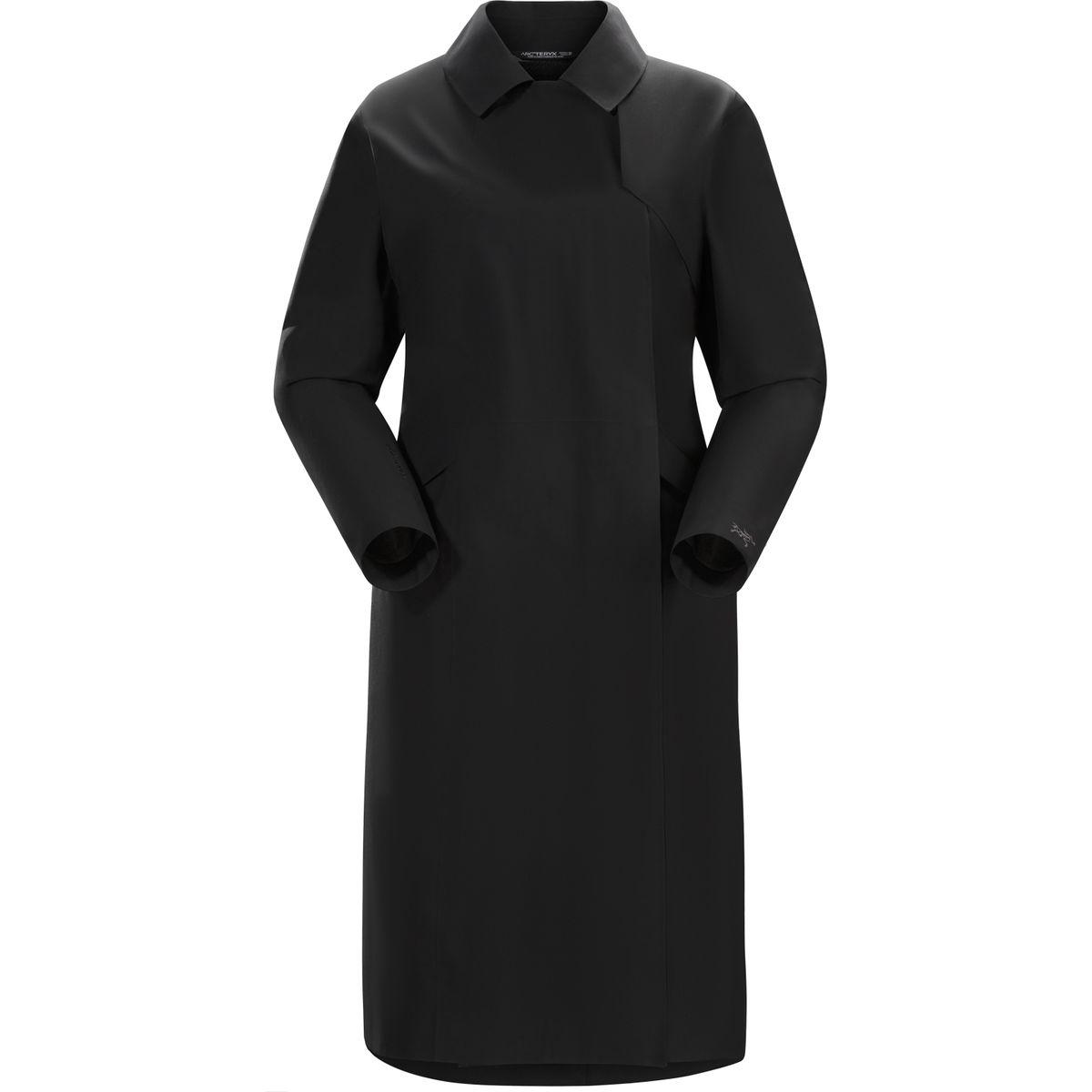 photo: Arc'teryx Nila Trench Coat waterproof jacket