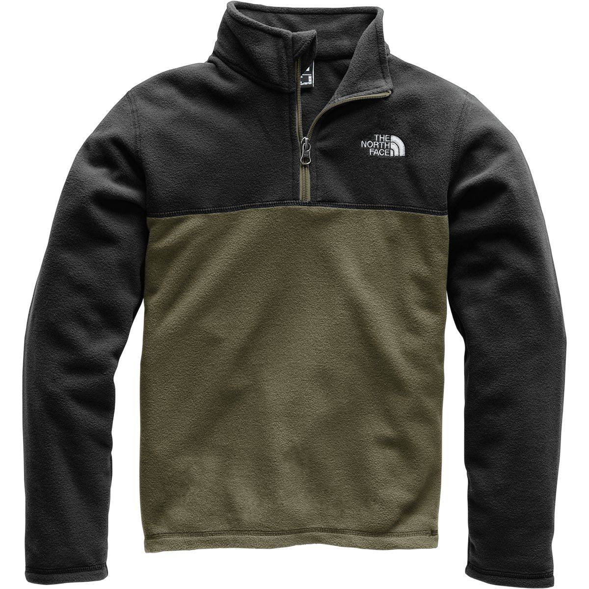 photo: The North Face Kids' Glacier 1/4 Zip fleece top