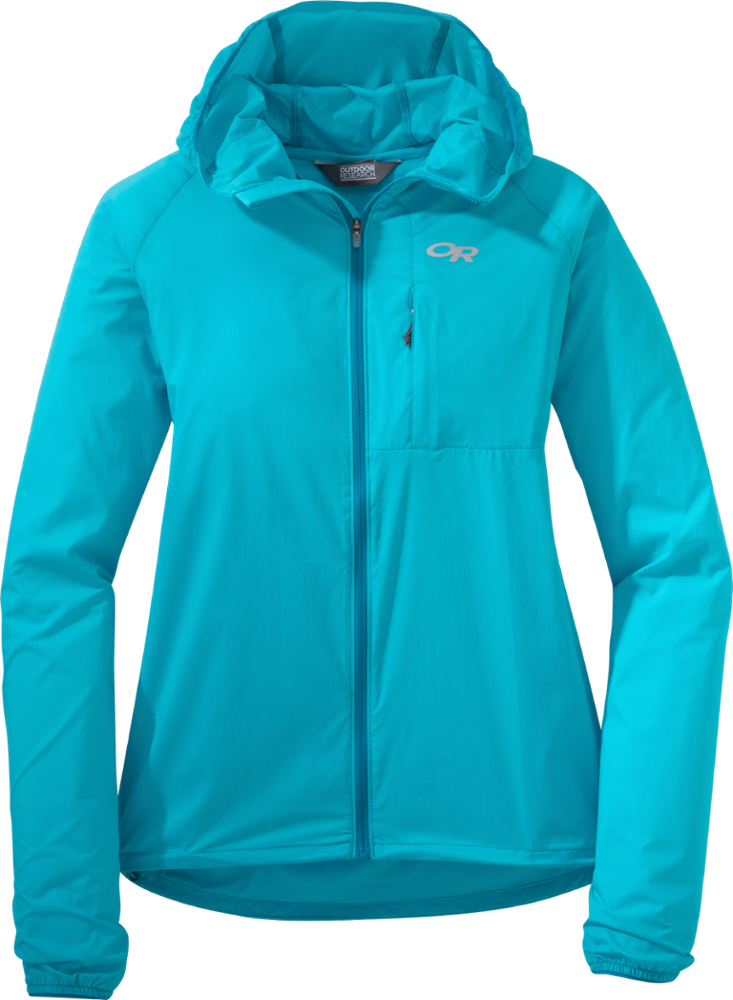 photo: Outdoor Research Women's Tantrum II Hooded Jacket wind shirt