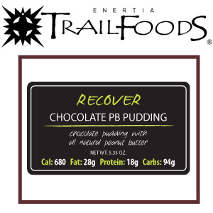 Enertia Trail Foods Chocolate Peanut Butter Pudding