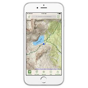 Glacier Peak Studios Topo Maps+