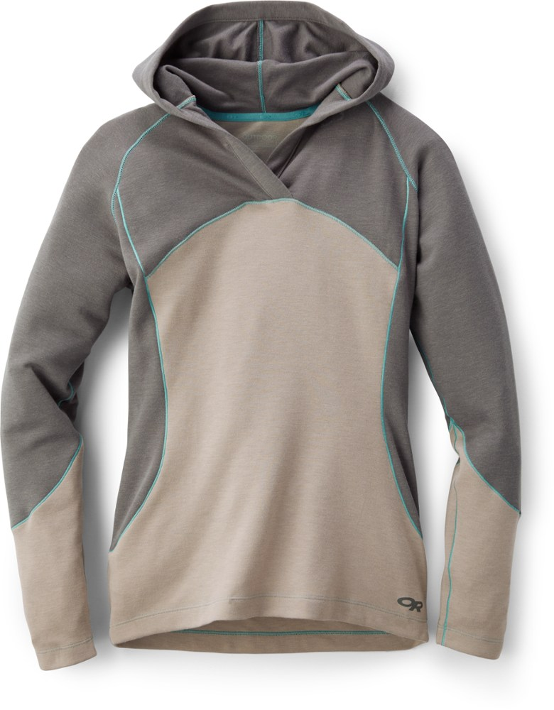 photo: Outdoor Research Women's Blackridge Hoody fleece top