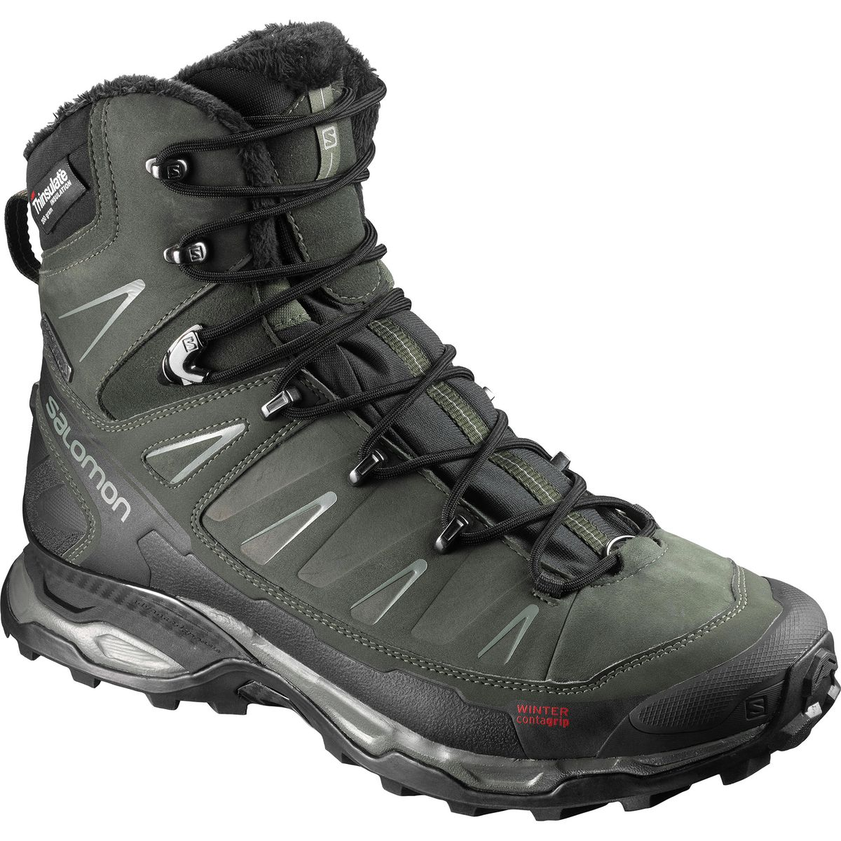 photo: Salomon Men's X Ultra Mid Winter CS WP winter boot