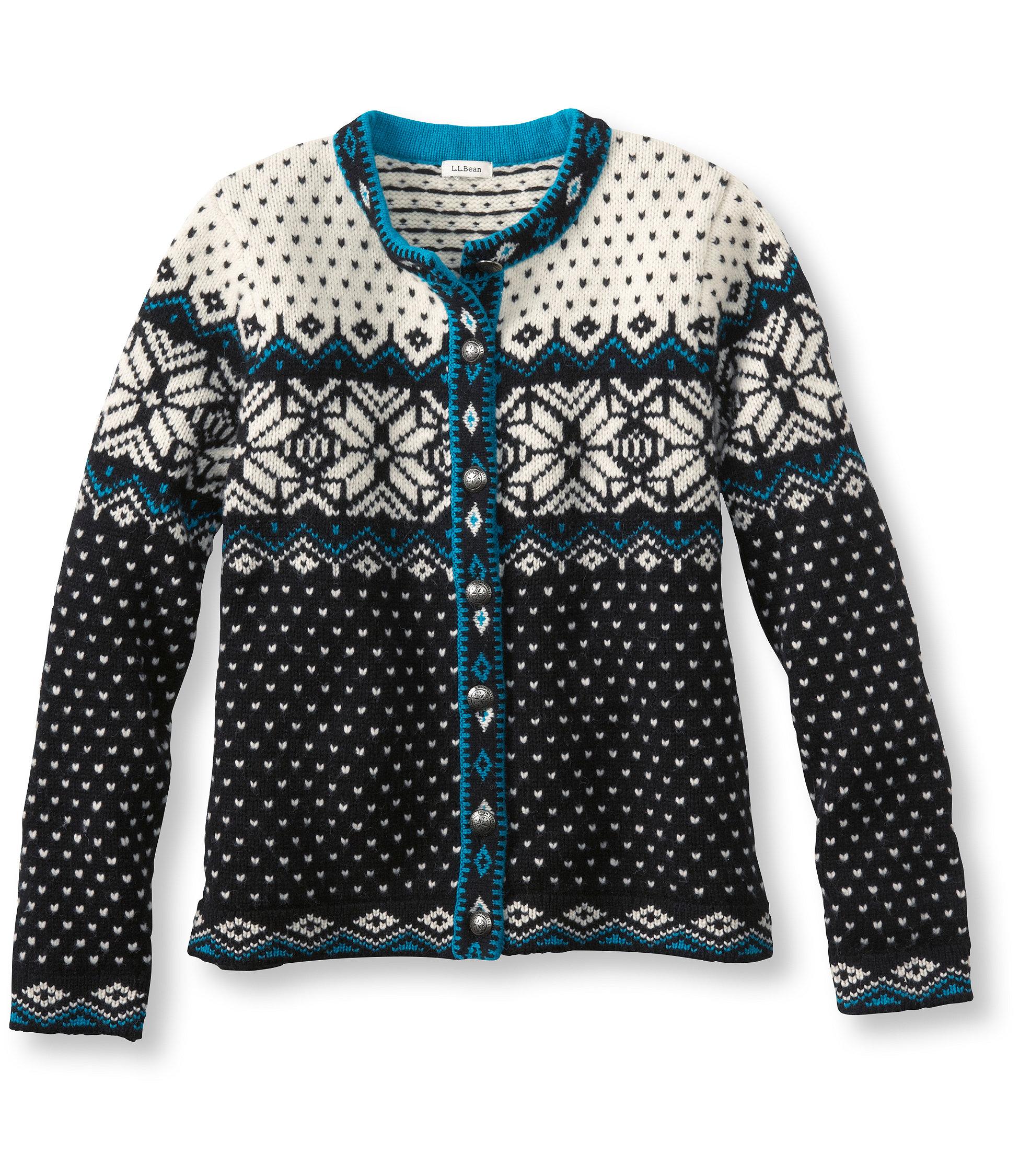 L.L.Bean Kingfield Sweater, Lambswool