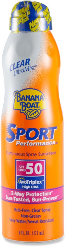 Banana Boat Sport Performance SPF 50 UltraMist Spray