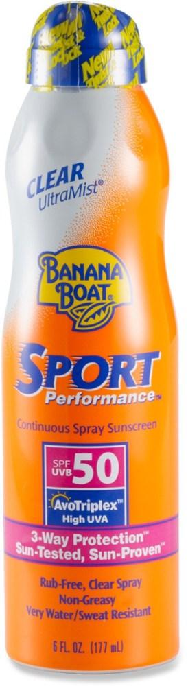 photo: Banana Boat Sport Performance SPF 50 UltraMist Spray sunscreen
