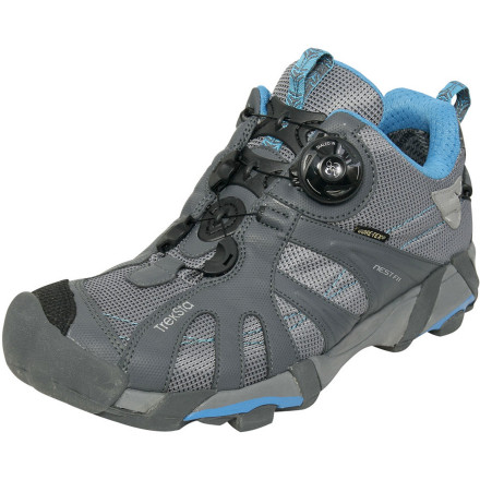 photo of a TrekSta trail running shoe