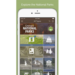 Chimani National Parks App
