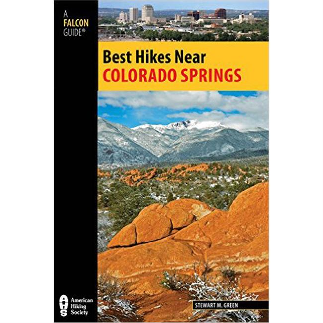 photo: Falcon Guides Best Hikes Near Colorado Springs us mountain states guidebook