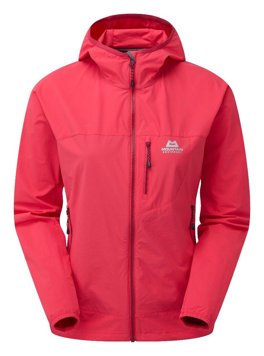 photo: Mountain Equipment Women's Echo Hooded Jacket soft shell jacket