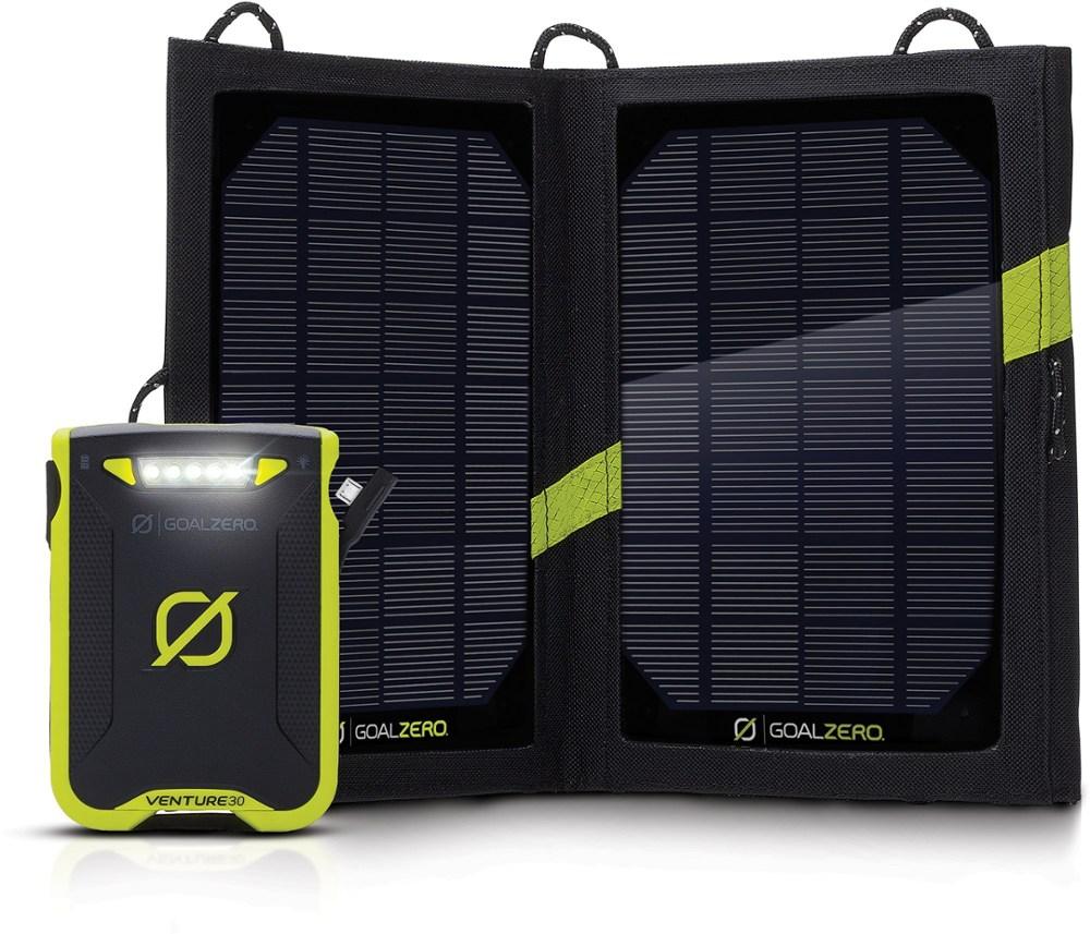 photo: Goal Zero Venture 30 Solar Recharging Kit power storage