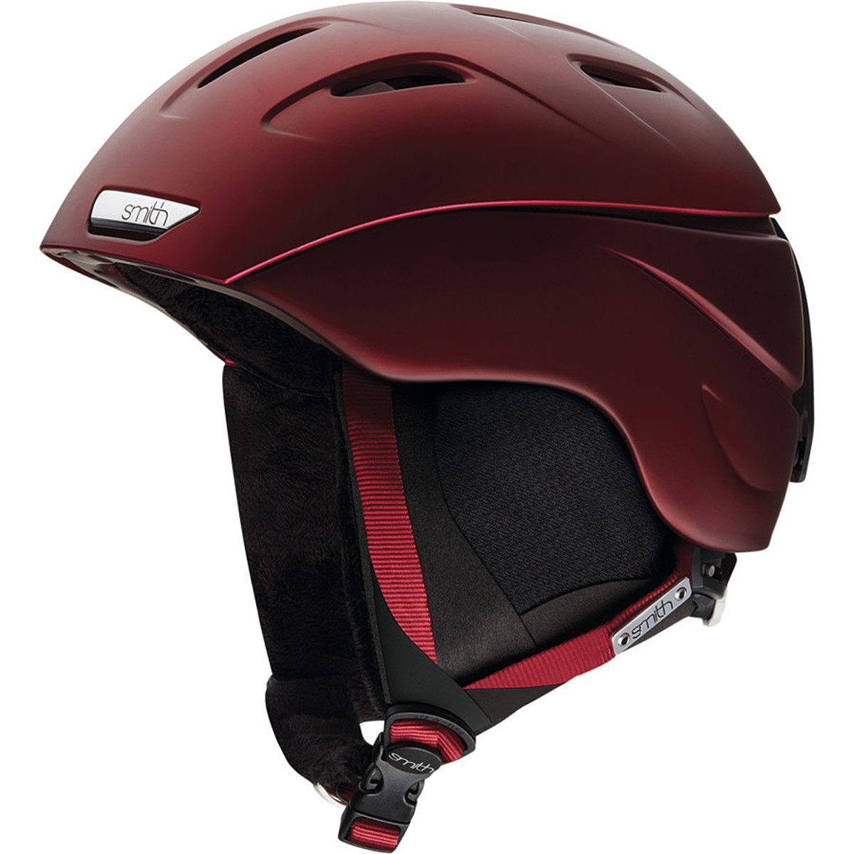 photo: Smith Intrigue Helmet snowsport helmet
