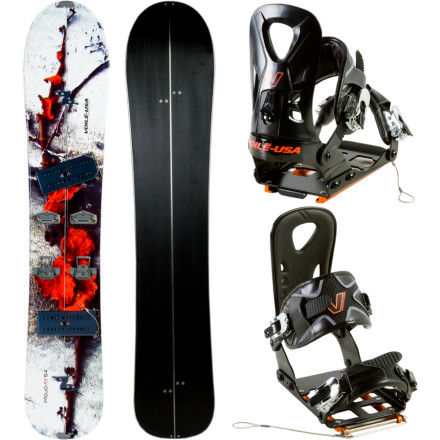 photo: Voile Mojo RX Splitboard/Light Rail Package splitboard kit