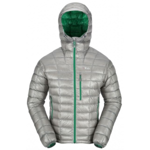 photo: Rab Continuum Hoodie down insulated jacket