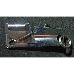 photo:   P-38 Can Opener with Blade Lock kitchen accessory