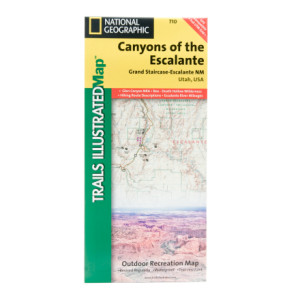 National Geographic Canyons of the Escalante Map