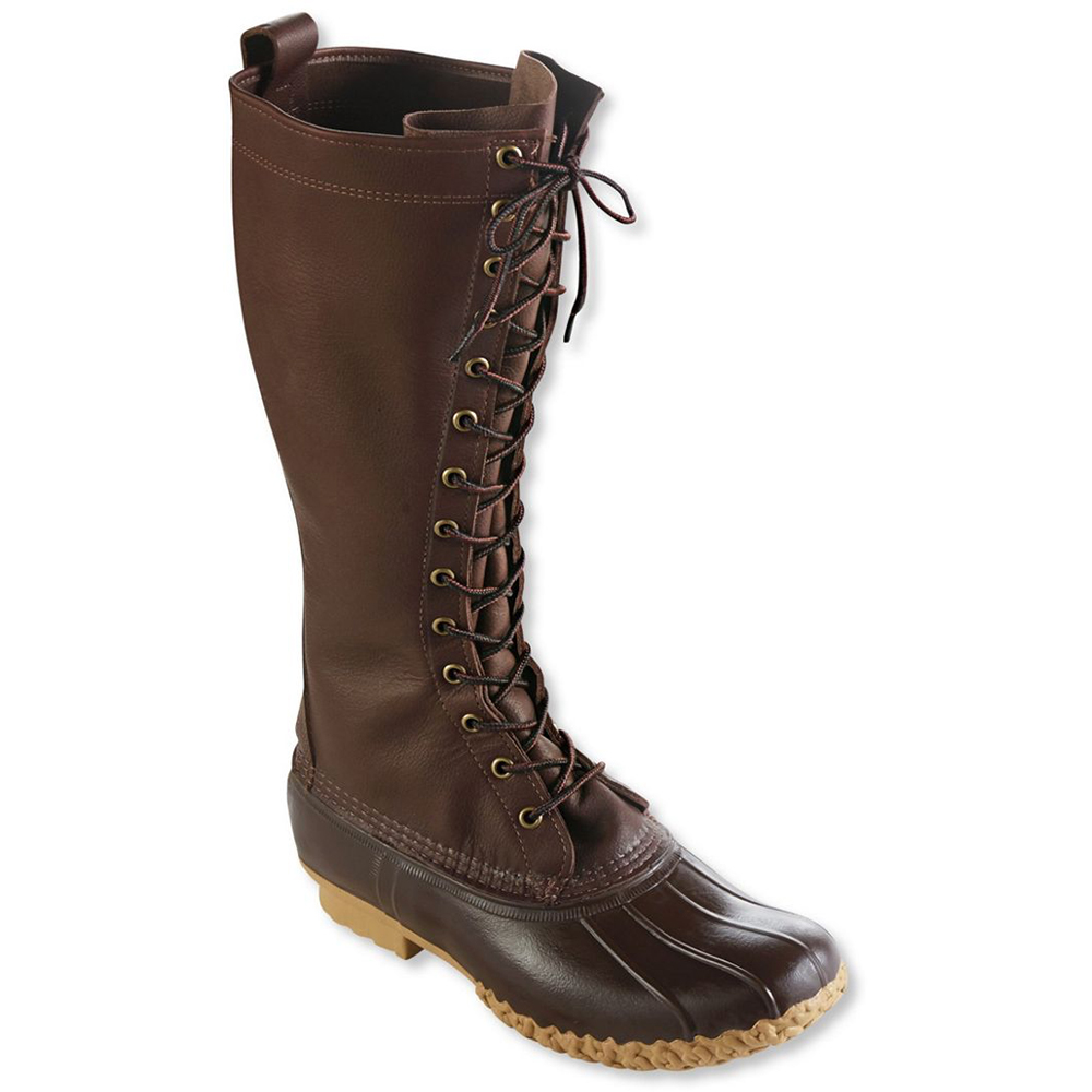 "photo: L.L.Bean Maine Hunting Shoes, 16"" winter boot"
