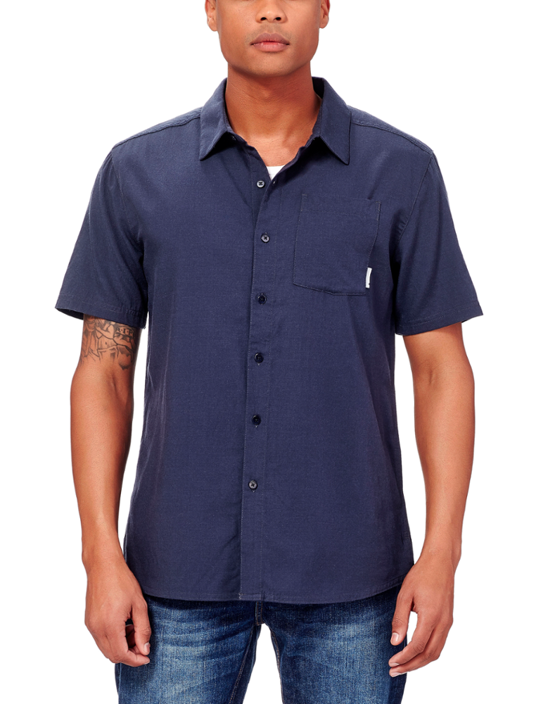 Icebreaker Compass Short Sleeve Shirt Plaid