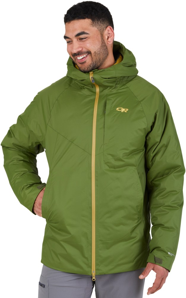 photo: Outdoor Research Men's Floodlight Down Jacket down insulated jacket