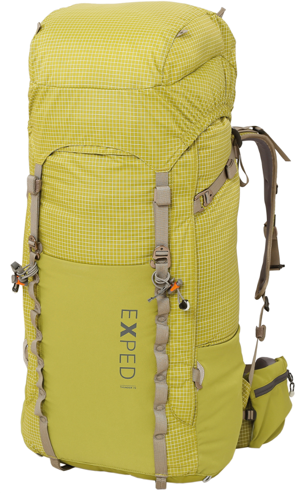 photo: Exped Men's Thunder 70 expedition pack (70l+)