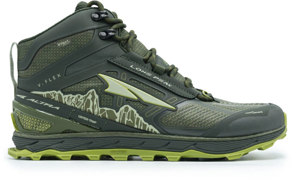 photo: Altra Lone Peak 4 Mid RSM hiking boot