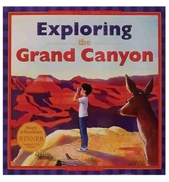photo of a Grand Canyon Association us mountain states guidebook