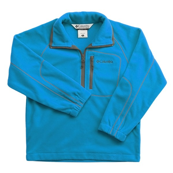 photo: Columbia Fast Trek Pullover fleece top