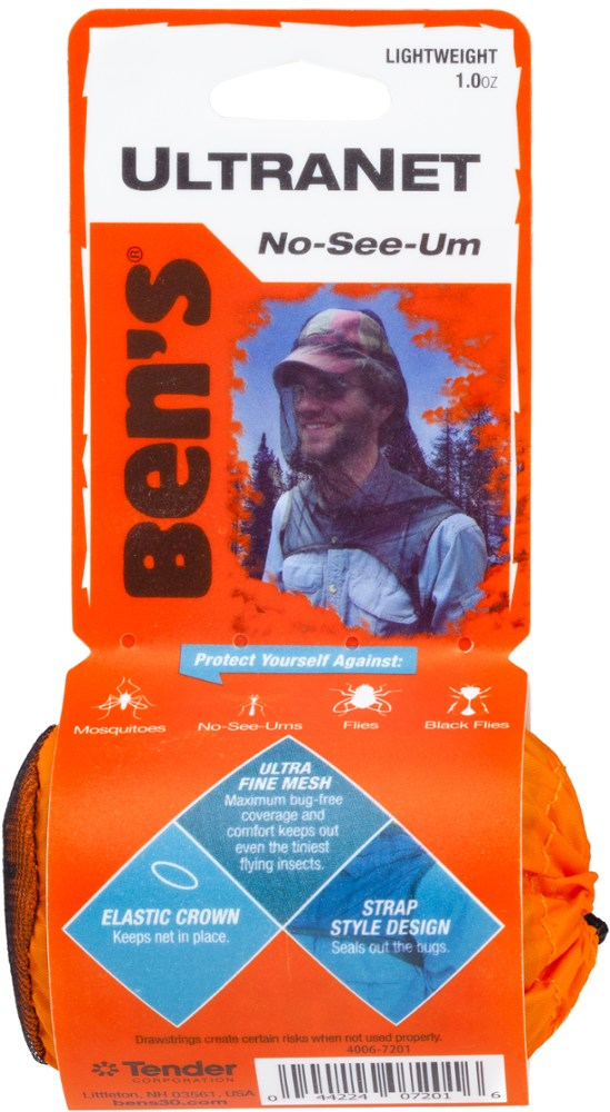 photo: Adventure Medical Kits Ben's UltraNet Head Net insect repellent
