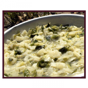photo: Enertia Trail Foods Potato Leek Soup soup