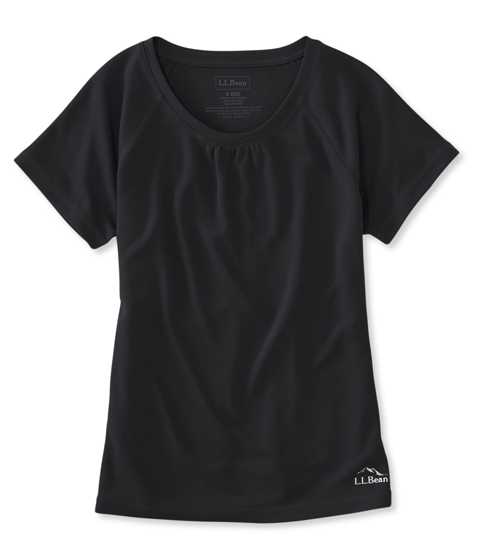 L.L.Bean Beansport Crewneck Tee, Short-Sleeve