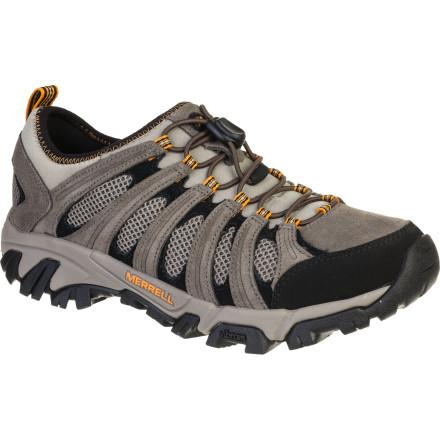 photo: Merrell Geomorph Maze Stretch trail running shoe