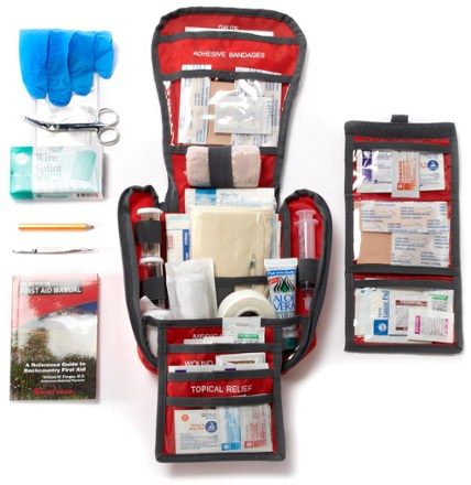 photo: REI Backpacker Extended First-Aid Kit first aid kit