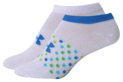 Under Armour Eliptical Print No Show Liner Sock