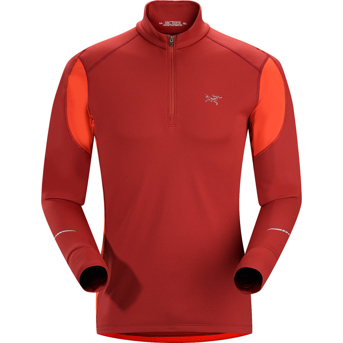 photo: Arc'teryx Men's Cyclic Zip Neck long sleeve performance top