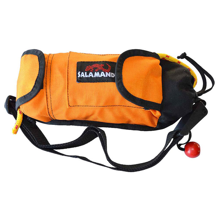 photo: Salamander Golden Retriever Kayak Throw Rope & Rescue Tow Tether throw bag/rope