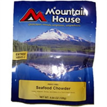 photo: Mountain House Seafood Chowder soup