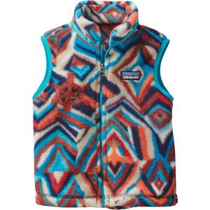 photo: Patagonia Kids' Synchilla Vest fleece vest