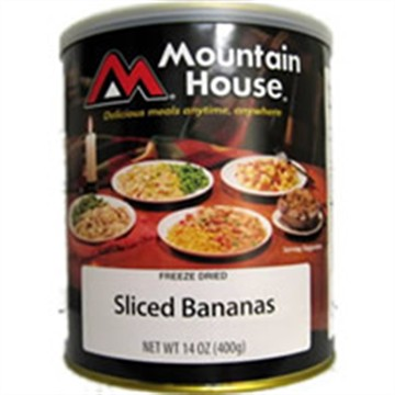Mountain House Sliced Bananas