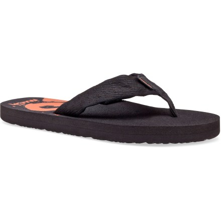 photo: Teva Mush Print flip-flop