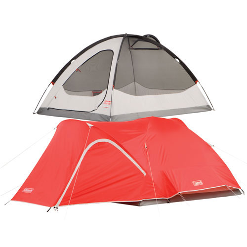 photo: Coleman Hooligan 4 Tent three-season tent