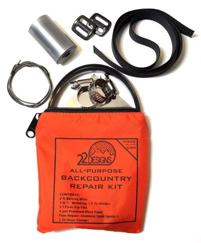 photo: TwentyTwo Designs All-Purpose Backcountry Repair Kit repair kit