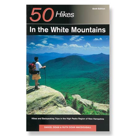 photo: Countryman Press 50 Hikes in the White Mountains us northeast guidebook