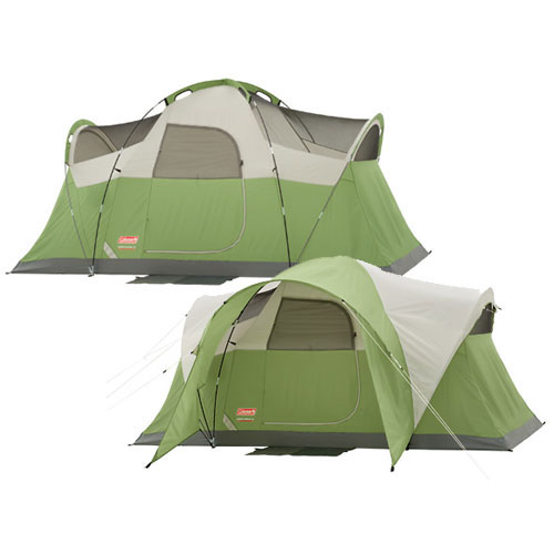 photo: Coleman Montana 6 tent/shelter