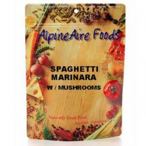 AlpineAire Foods Spaghetti Marinara with Mushrooms