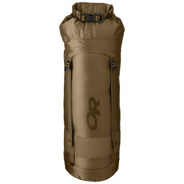 photo: Outdoor Research AirPurge Dry Compression Sack 15L compression sack