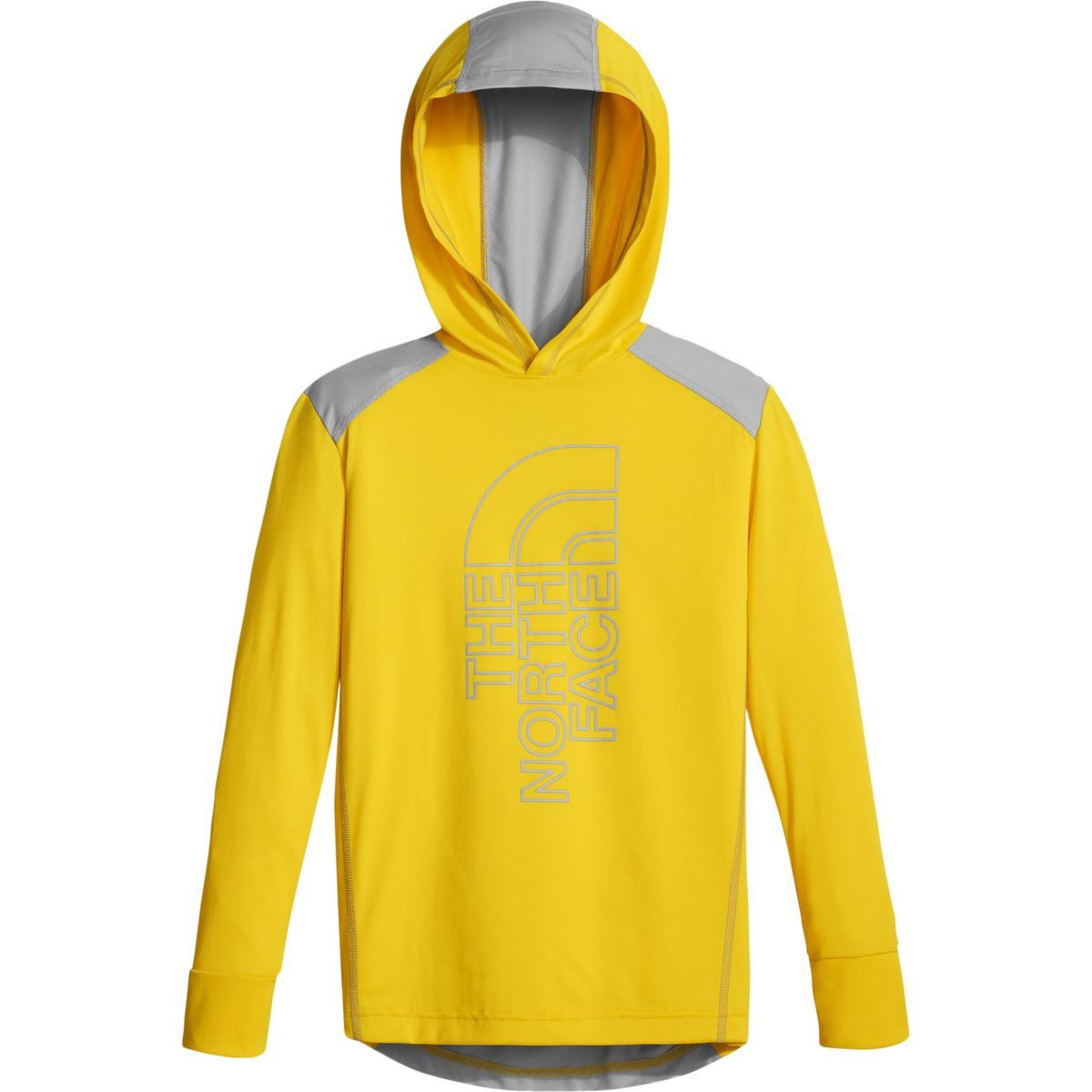 photo: The North Face Boys' Reactor Hoodie long sleeve performance top