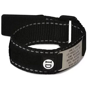 photo: Road ID Wrist ID Sport safety gear